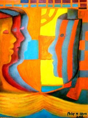 Polymorphism I Art Print by Philip Okoro