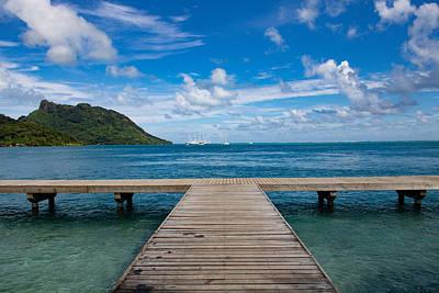 Photograph - Polynesian Vista by Martin Naugher