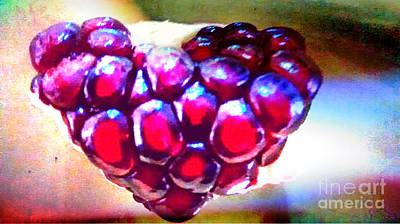 Painting - Pomegranate Heart For You by Genevieve Esson