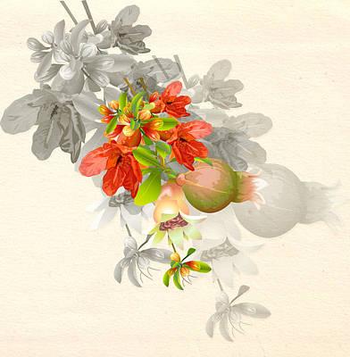 Digital Art - Pomegranate by Nato  Gomes
