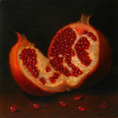Pomegranate, Peru Impression Art Print