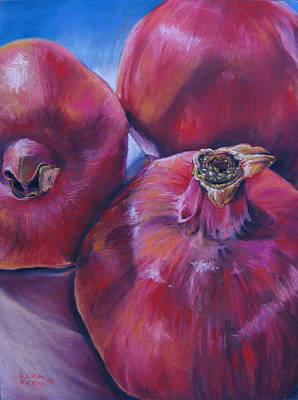 Painting - Pomegranate Power by Outre Art  Natalie Eisen