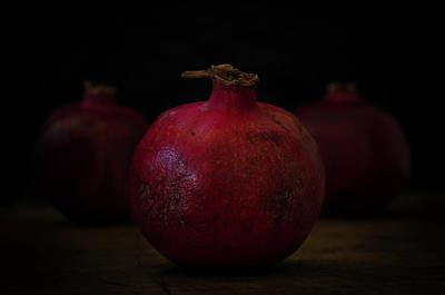 Photograph - Pomegranate by Rae Ann  M Garrett