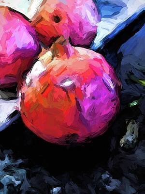 Photograph - Pomegranates Of Red 1 by Jackie VanO