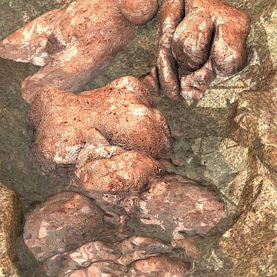 Digital Art - Pompei by James Barnes