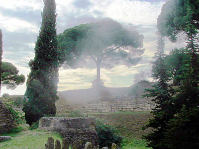 Photograph - Pompeii by Judi Saunders