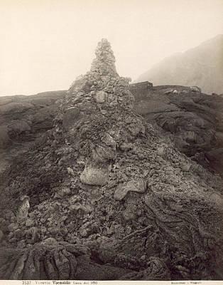 Photograph - Pompeii: Mt. Vesuvius, 1893 by Granger