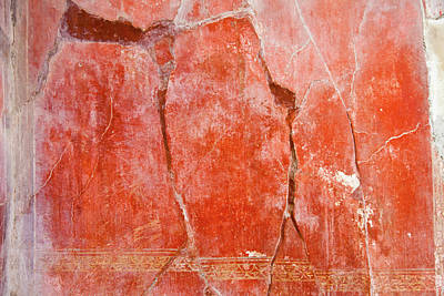 Italy Photograph - Pompeii Red by Paolo Modena