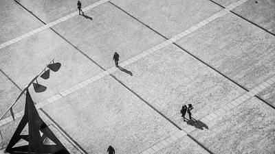 Photograph - Pompidou Museum Plaza Paris France by Lawrence S Richardson Jr