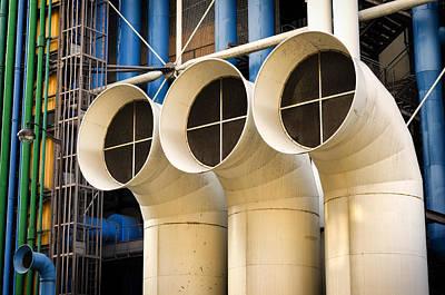 Photograph - Pompidou by Pablo Lopez
