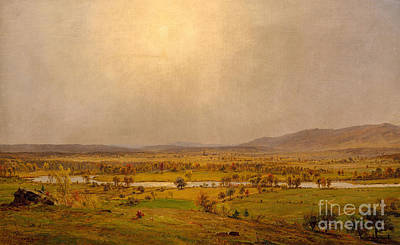 Painting - Pompton Plains, New Jersey, 1867 by Jasper Francis Cropsey