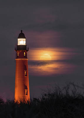 Photograph - Ponce De Leon Full Moon by Norman Peay