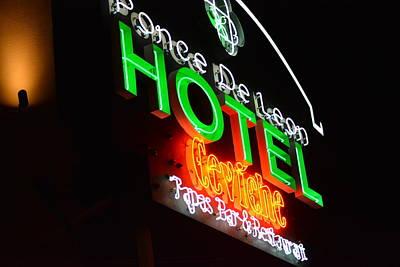 Photograph - Ponce De Leon Hotel St. Pete Florida by Tamara Michael