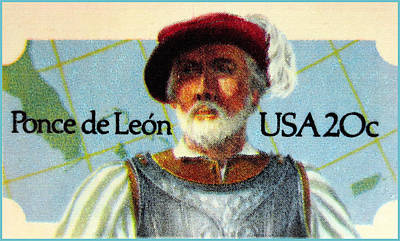 Ponce Painting - Ponce De Leon by Lanjee Chee