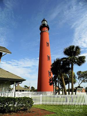 Photograph - Ponce De Leon Lighthouse by D Hackett