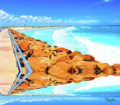 Photograph - Ponce Inlet Jetty  by Art Mantia
