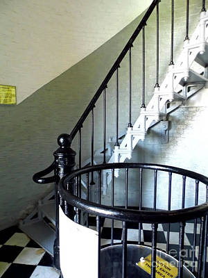 Photograph - Ponce Inlet Spiral Staircase by D Hackett
