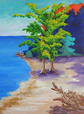 Punta Gorda Painting - Ponce Park Hideaway by Kathy Przepadlo