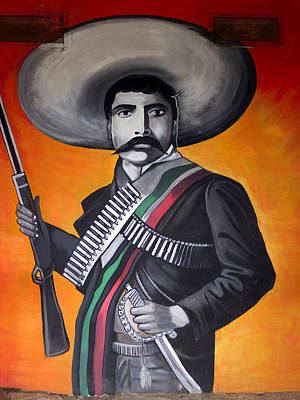 Photograph - Emiliano Zapata by Kurt Van Wagner