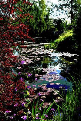 Photograph - Pond A La Monet by Jerry Kalman