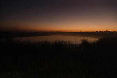 Photograph - Pond And Cattails At Sunrise by Steven Schwartzman