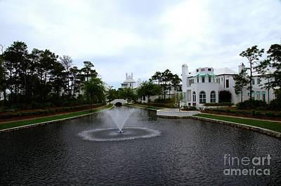 Alys Beach Photograph - Pond At Alys Beach by Megan Cohen