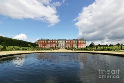 Photograph - Pond At Hampton Court Palace by Julia Gavin