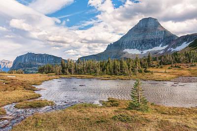 Photograph - Pond At Nine Thousand Feet by John M Bailey