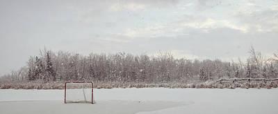 Pond Hockey Photograph - Pond Hockey by Jay Callaghan