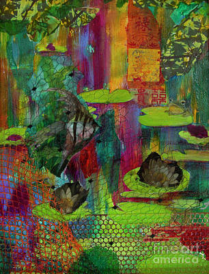 Painting - Pond Impressions by Jeanette French