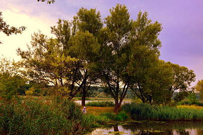 Photograph - Pond In Starachowice-poland by Henryk Gorecki