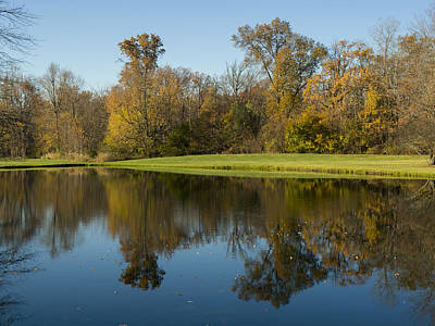 Photograph - Pond In The Fall by Michael Colgate
