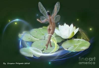 Pond Lilies Art Print by Crispin  Delgado