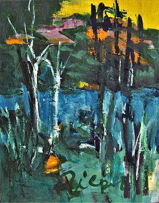 Painting - Pond Near Fourth Lake by Betty Pieper