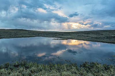Photograph - Pond On The Range by Denise Bush