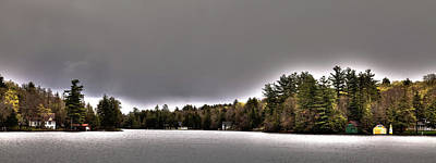 Pond Panorama Art Print by David Patterson