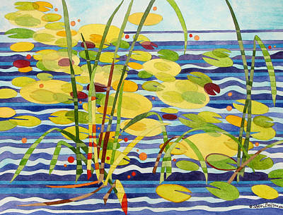 Painting - Pond Patterns by Sherri Bails
