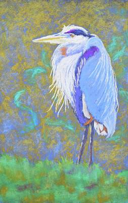 Painting - Pond Pirate by Nancy Jolley