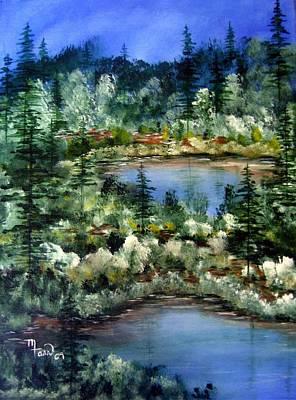 Pond Pond Art Print by Mark Farr