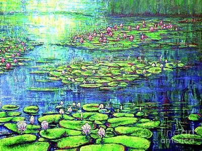Painting - Pond by Viktor Lazarev