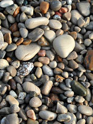 Photograph - Ponder Pebbles by Cyryn Fyrcyd