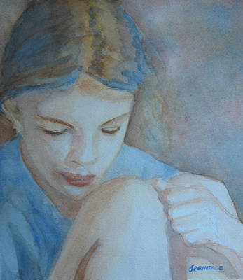 Ponder Painting - Pondering by Jenny Armitage