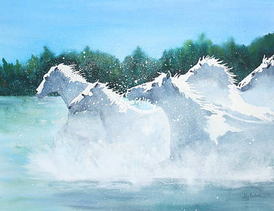 Painting - Splash 2 by Ally Benbrook