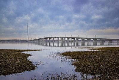 Ponquogue Bridge Hampton Bays Ny Art Print