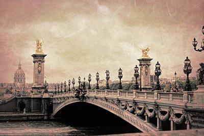 Photograph - Pont Alexandre IIi Bridge by JAMART Photography