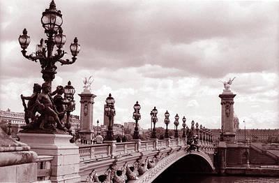 Pont Alexandre IIi Bridge Art Print by Kathy Yates