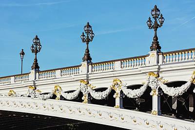 Photograph - Pont Alexandre IIi - Paris, France by Melanie Alexandra Price