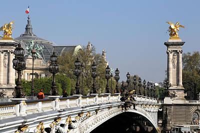 Photograph - Pont Alexandre Paris 1 by Andrew Fare