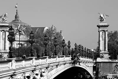 Photograph - Pont Alexandre Paris 2 by Andrew Fare