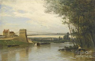 Pont D'auvers-sur-oise Art Print by Celestial Images